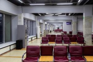 Зал ожидания аэропорт Ижевск Ижавиа