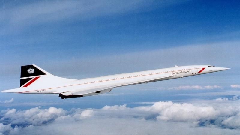 Concorde Великобритания