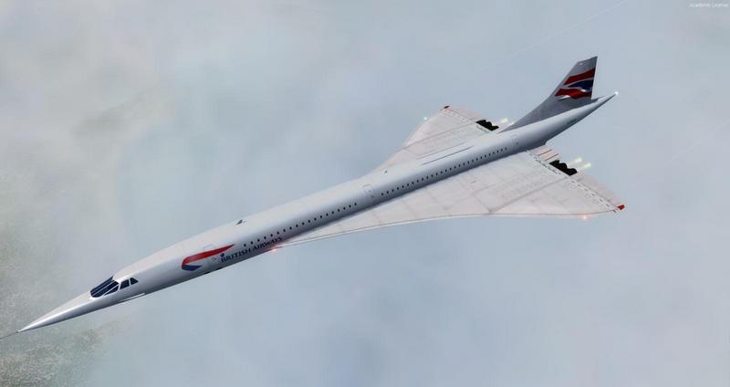 Concorde скорость